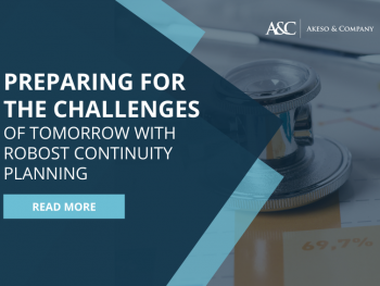 Business Continuity Planning | Akeso & Co | Healthcare Procurement Consulting